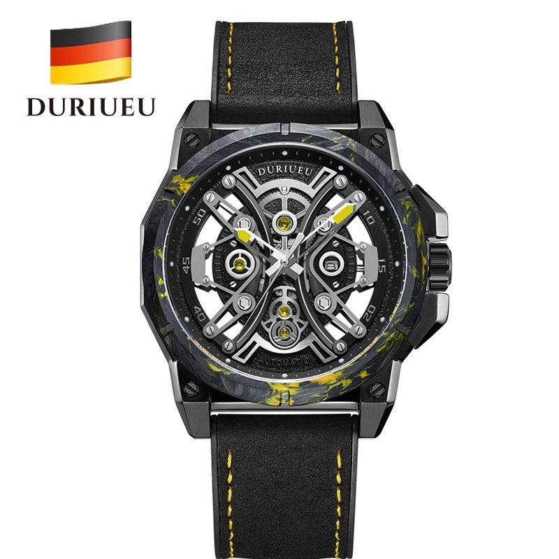 DURIUEU 18003M German carbon fiber heavy mechanical watches