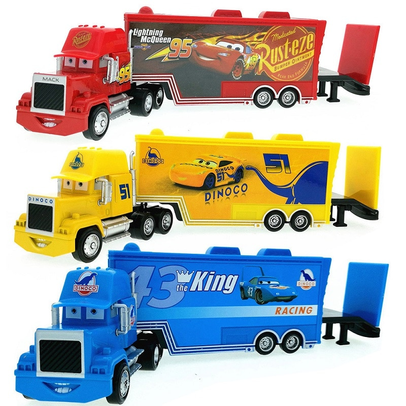 pixar cars jackson storm 1 55 scale mini cars model toys for children christmas gifts figures alloy cars toys high quality Cars Disney Pixar Cars 2 Cars 3 The King Jackson Storm Mack Uncle Truck 1:55 Diecast Model Car For Children Christmas Gifts