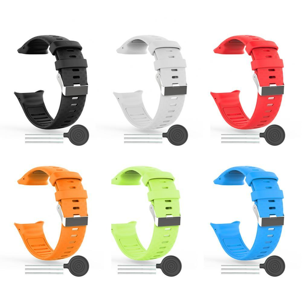 Replacement Silicone Soft Watchband Smart Watch Wrist Strap for Polar Vantage V Wearable Devices Smart Accessories smart watches mykronoz zetielpg wearable devices wrist watch accessories