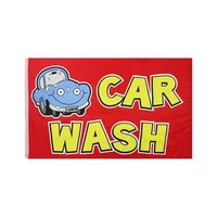 flagicts 3x5 ft car wash flag advertising opening business banner flags