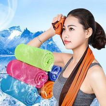 Serviette de refroidissement instantané, à séchage rapide, pour Fitness, cyclisme, Jogging, Sport, natation en plein air