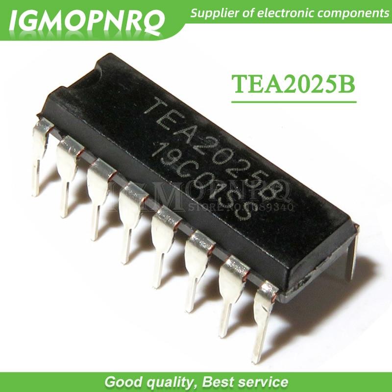 10 pièces/lot TEA2025B TEA2025 DIP-16 amplificateur Audio carte amplificateur IC nouveau Original