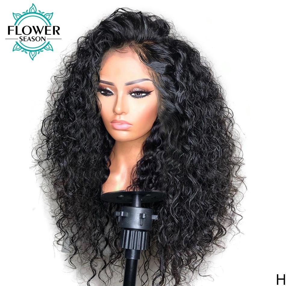 باروكات أمامية من الدانتيل مقاس 13 × 6 شعر بشري ريمي برازيلي شفاف بشريط أمامي عالي الجودة باروكة شعر أمامية 180% مبيض بالزهور