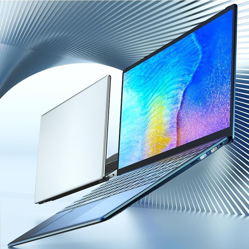 Get QMDZ Hot Sale Gold  RAM 32GB 2TB SSD Ultrabook Metal 2.4G/5.0G Bluetooth AMD Athlon Gold 3150U windows 10 Pro 15.6inch laptop