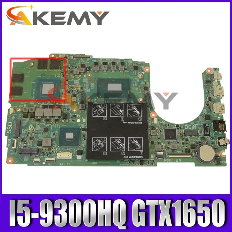 لديل انسبايرون 3590 0WGHCY I5-9300HQ N18P-G0-MP-A1 GTX1650 اللوحة الأم للكمبيوتر المحمول