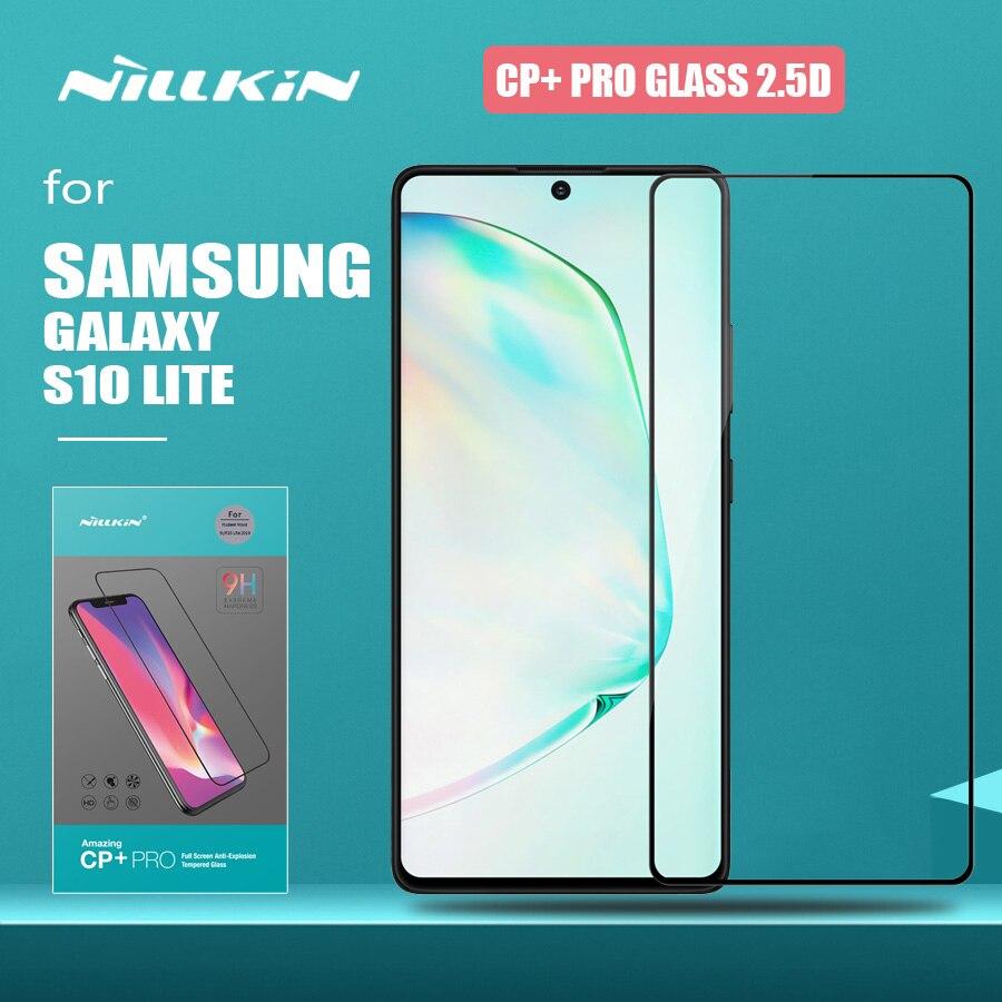 Защитное стекло Nillkin для Samsung Galaxy S10 Lite, полноразмерное закаленное стекло CP + PRO с защитой от царапин, HD, для Samsung S10 Lite