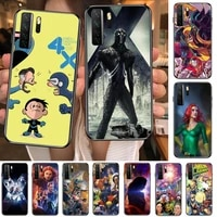 marvel x men black soft cover the pooh for huawei nova 8 7 6 se 5t 7i 5i 5z 5 4 4e 3 3i 3e 2i pro phone case cases