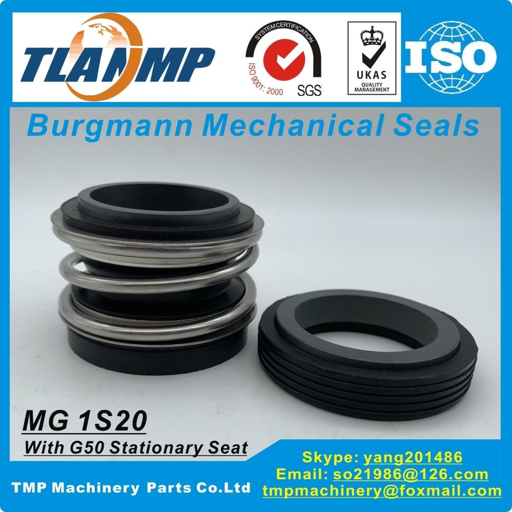 Mg1s20/45-g50, selos mecânicos de MG1S20-45-G50 tlanmp burgmann com assento g50 para as bombas do tamanho 45mm do eixo