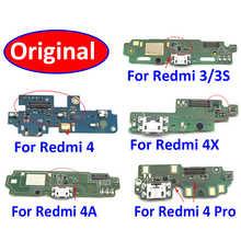 Оригинальный Для Xiaomi Redmi 3 3S 4X 4 Pro 5 5A 6 6A зарядный док-порт USB зарядное устройство разъем PCB Mic плата гибкий ленточный кабель