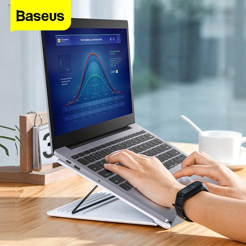 Soporte portátil para portátil Baseus para Macbook Air Pro 16 15 14 13 pulgadas soporte Base plegable ajustable para ordenador PC