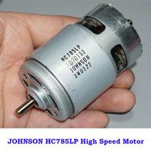 JOHNSON RS-775 DC 12V-20V 18V 18V 19000RPM High Speed High Power duży moment obrotowy wiertarka i śrubokręt/ogród elektronarzędzia silnik
