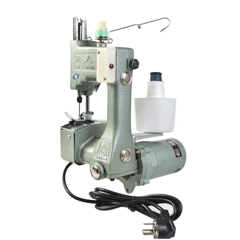 GK9-8 باليد التعبئة آلة الأرز المعكرونة الحياكة حقيبة ختم آلة الخياطة آلة الخياطة الكهربائية آلة