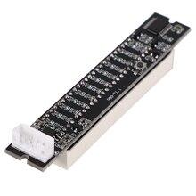 Retail Mini Dual 12 Level Indicator VU Meter Stereo Amplifier Board Adjustable Light Speed Board