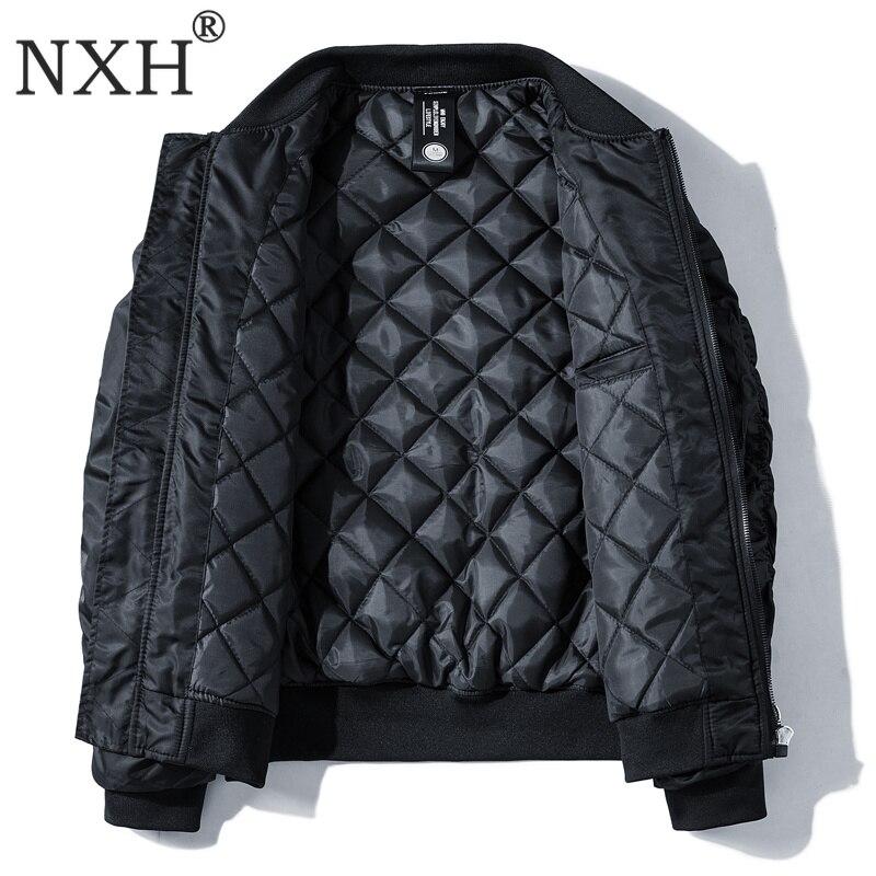 Classic Ma1 Bomber jacket Men Plus size Flight Pilot Baseball jackets Male Military Coat Couple Streetwear veste homme