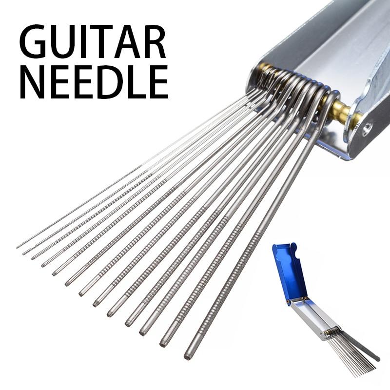 Guitar Repair Tools Slot Nut File DIY Repair Guitar Bridge Slotting Files Luthier Tools Guitar Nut Needle Files 13 File Size