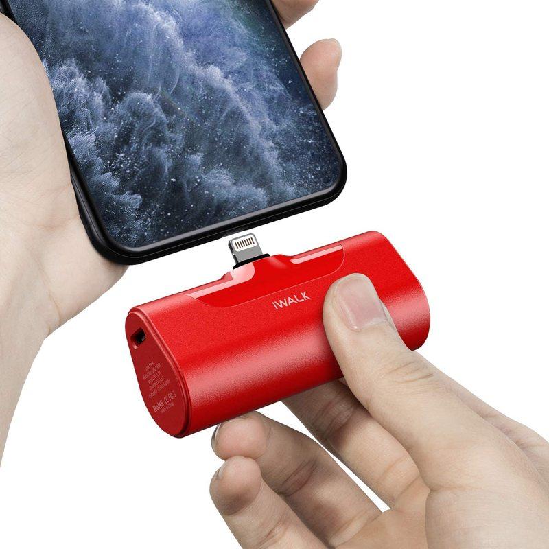 IWALK Mini 4500mAh banco de potencia portátil de viaje cargador de tipo de negocio-C Lightning lindo Powerbank para Xiami Iphone Bateria Portatil
