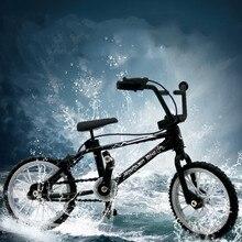 Retro Mini Finger BMX Fahrrad Montage Bike Modell Spielzeug Flick Finger Bikes Spielzeug BMX Fahrrad Neuheit Gag Spielzeug Kinder Geschenke