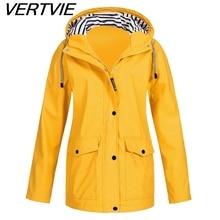 2021 Women's Raincoat Transition Jacket Sunset Long Autumn Winter Rain Coat Hiking Jacket Outdoor Ca