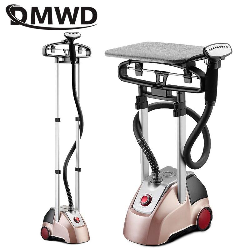 Plancha de vapor DMWD para el hogar de 2000W, máquina de planchar de mano, plancha de vapor plana vertical de 2.5L, suspensión ajustable de 11 engranajes para ropa EU