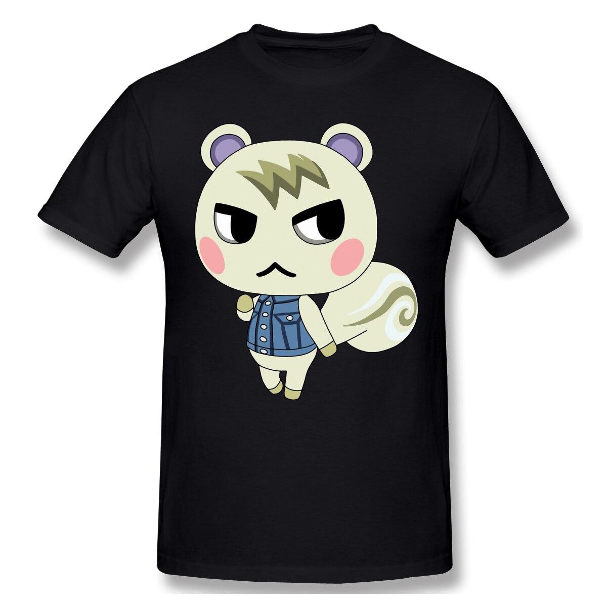 Мужские футболки с рисунком животных new horizons, забавный круглый Детский рюкзачок с вырезом, топы с короткими рукавами, футболки из чистого хлопка, футболки Harajuku