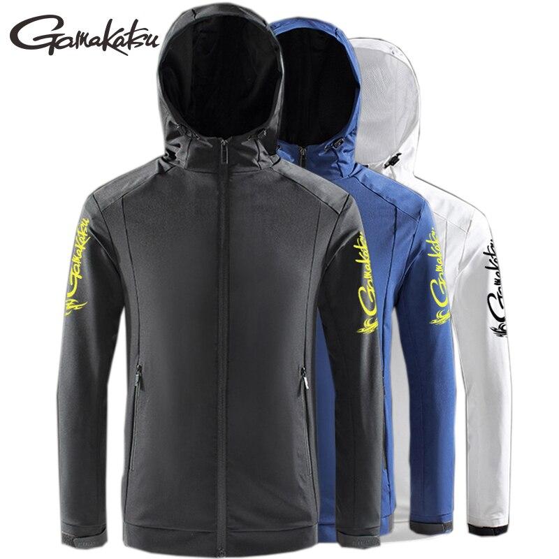 Gamakatsu Sommer Männer Quick Dry Angeln Jacke Wasserdicht Winddicht Sun UV Schutz Mäntel Outdoor Sport Angeln Jacken