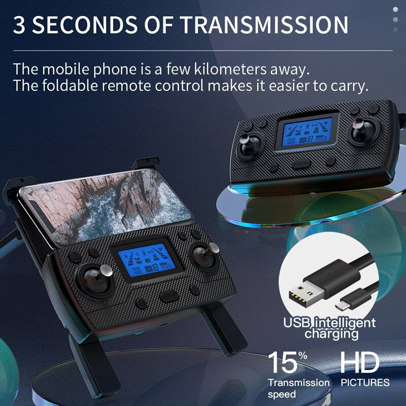 ZLL SG907 MAX GPS Drone 4K Camera 5G FPV WiFi With 3-Axis Gimbal ESC 25 Minutes Flight Brushless RC Quadcopter Profesional Dron 10