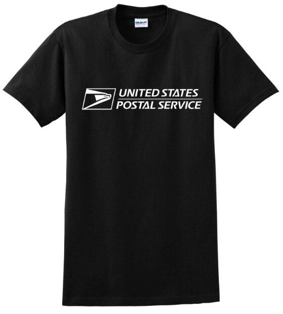 Унисекс Usps почтовая Почта офисная Футболка с рукавами Футболка США для мужчин отличный подарок