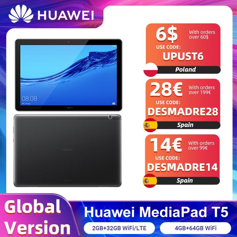 Global version HUAWEI MediaPad T5 2GB 32GB/4GB 64GB Tablet PC 10.1