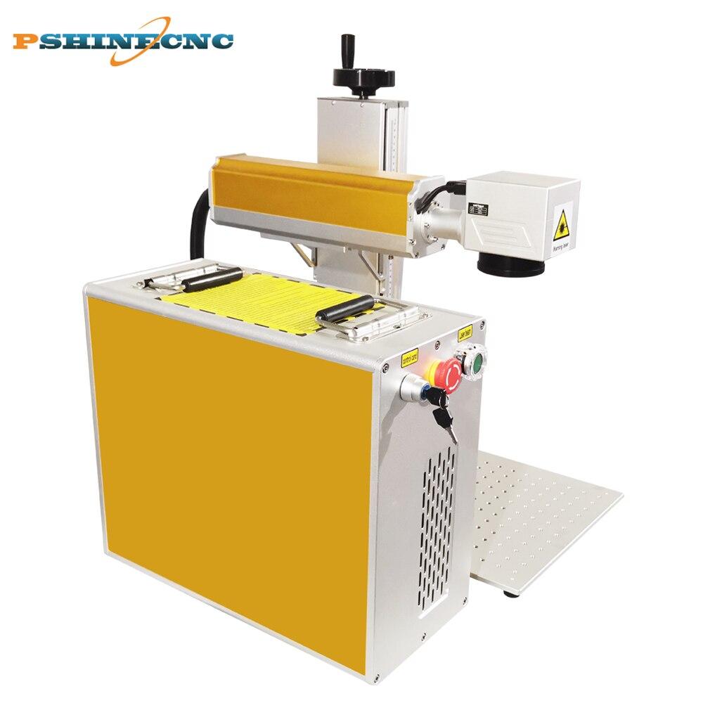 Máquina de impresión de logotipo láser para grabado de vidrio de plástico