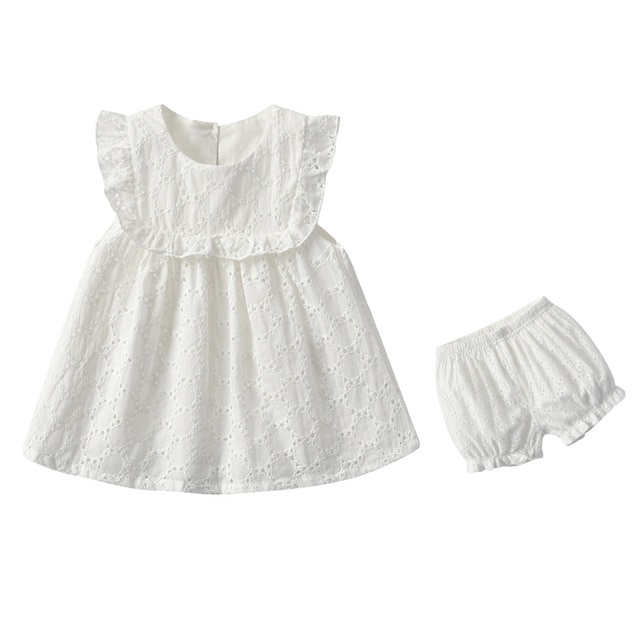 Yg Brand Children's Clothes, 2021 Summer Clothes, Baby Fashion Suit, White Girls' Summer Clothes, 0-2 Years Old Children's Cloth 8
