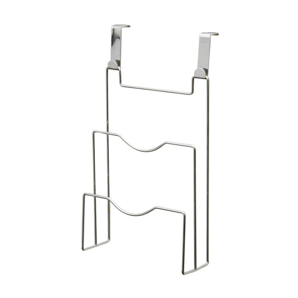 Armario de cocina de 20x7,5x36,5 cm soporte de tapa de cacerola soporte organizador de hogar soporte de almacenamiento drenaje Universal fácil de instalar ahorro de espacio
