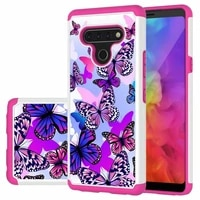 painted phone case for for lg k40 k51 k31 x320 stylo5 stylo6 luxury shockproof silicone tpu back bumper cover for aristo 4 plus