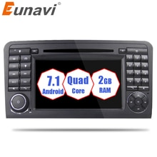 Eunavi Android 9.0 Video WiFi GPS Navi Quad Core Blotooth Stereo Car DVD Player For Benz ML CLASS W164 ML300 ML350 ML450 ML500