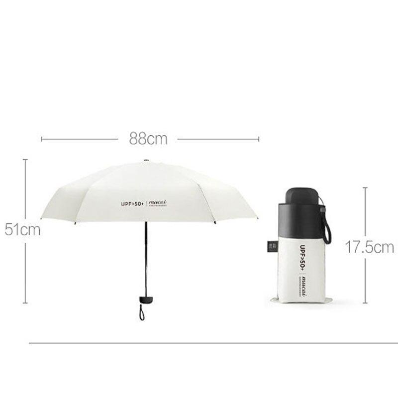 NEW Mini Women Pocket Small Umbrella Anti UV Paraguas Sun Umbrella Rain Windproof Light Folding Portable Umbrellas For Boy Girl enlarge