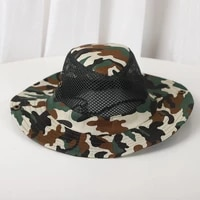bucket hat camouflage summer cap outdoor foldable sunscreen camouflage caps dome bucket hat fashion outdoor shade bucket hat