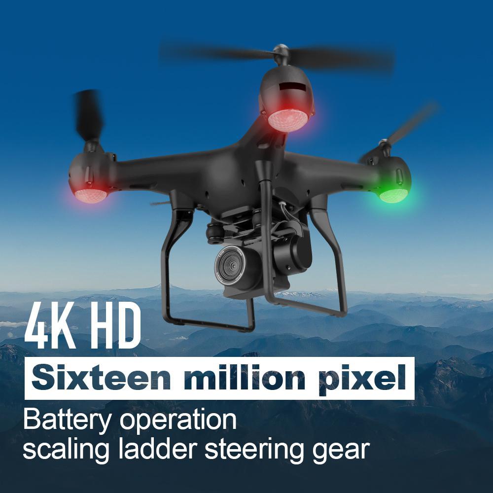 None Drone 4k RC Quadcopter Dron con HD 1080P HD Wifi cámara Video altamente estable Rc helicóptero F68 Drones