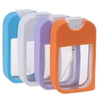 portable card shape perfume spray refillable empty bottle flat type fine mist atomizer 38ml