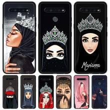 Silicone Étui Pour LG K41s K61 K50 G6 K50s k40s k40 G8 G7 Q60 K42 K71 Couverture ARRIÈRE Souple Funda Coque De Luxe Femme Hijab Visage