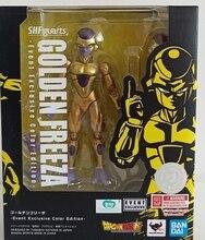 WSTXBD Original BANDAI Dragon Ball Z Super SHF Event Exclusive Color Edition Golden Freeza Figure Brinquedos Dolls Toys Figurals