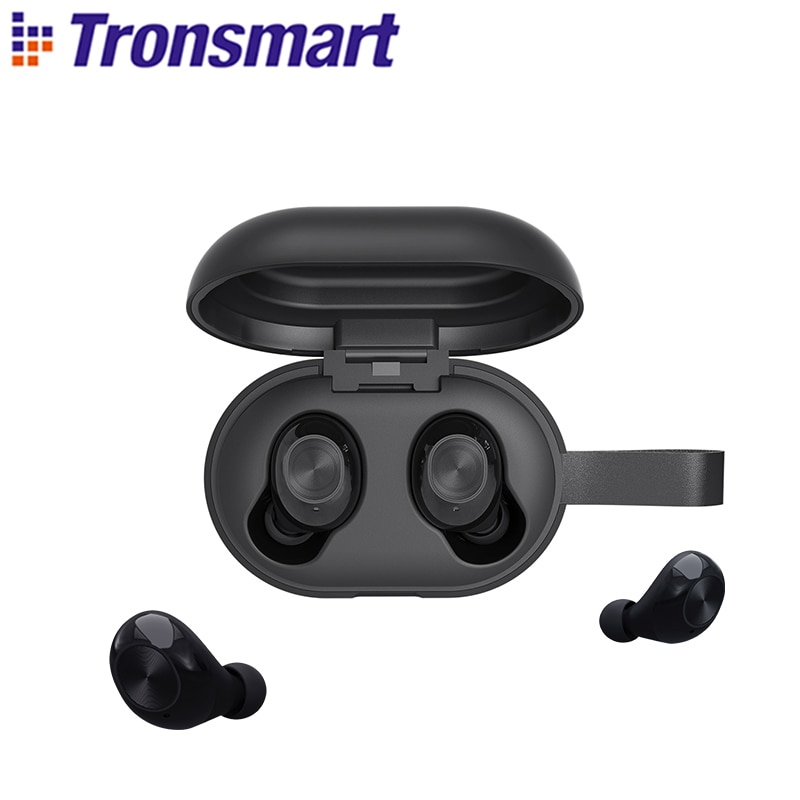 Tronsmart-Auriculares Bluetooth Spunky Beat TWS, con tecnología de Chip Qualcomm APTX, inalámbricos...