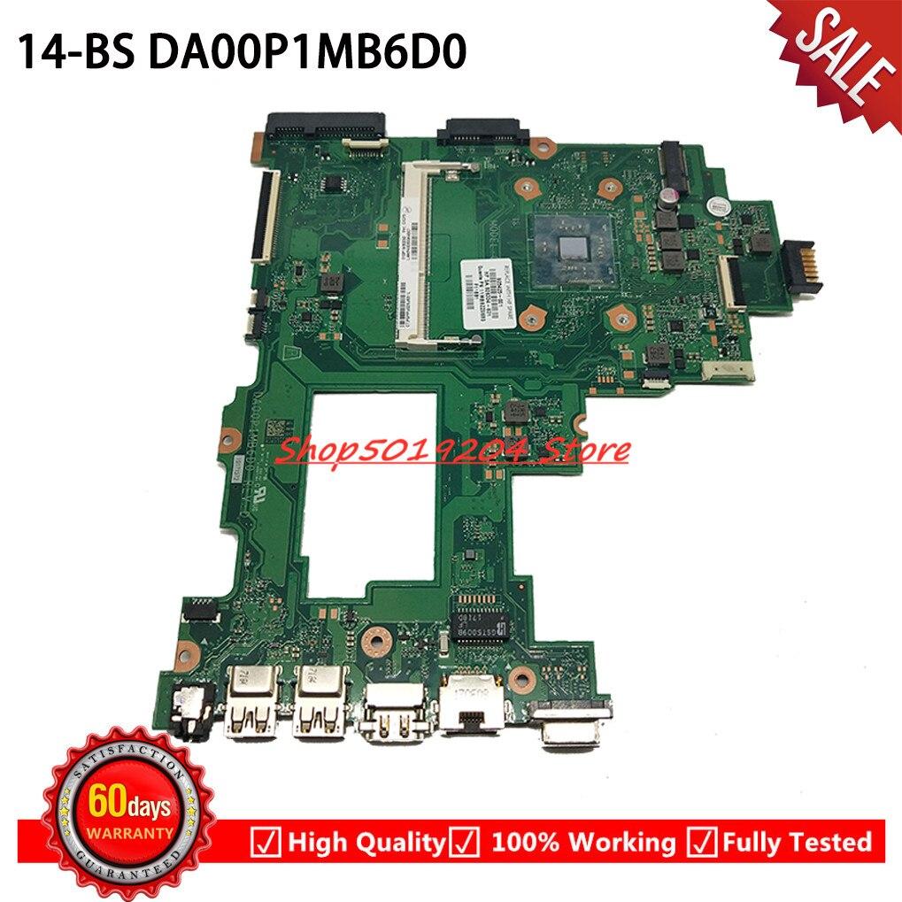 DA00P1MB6D0 اللوحة مع N3060 وحدة المعالجة المركزية ل HP 14-BS 240 G6 اللوحة المحمول 925425-601 925425-001 925425-501