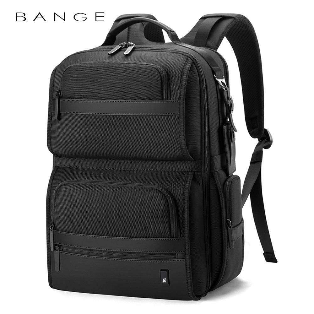 BANGE Oxford-حقيبة ظهر متعددة الوظائف للمراهقين ، حقيبة مدرسية للأولاد ، حقيبة تخييم ، حقيبة كتف عالية السعة
