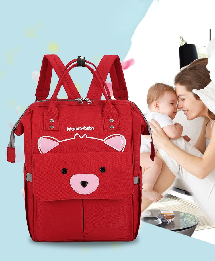 Fashion Mummy Maternity Nappy Diaper Backpack Bag Travel Multi Function Waterproof Outdoor Large