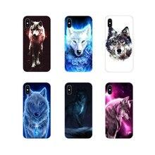 Прозрачный термополиуретановый чехол Чехлы Снежный волк волчий вой стиль для Huawei Честь 4C 5C 6X 7 7A 7C, 8, 9, 10, 8C 8S 8X 9X 10I 20 Lite рro