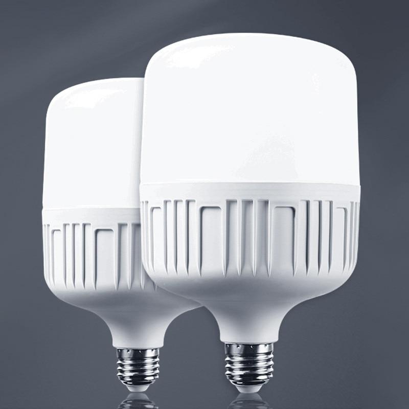 Led Cylindrical bulb lamp E27 B22 LED lamp AC 220V 50W 40W 30W 15W 10W 5W white light LED Lamp