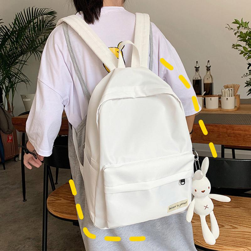 Hot Sale Backpack 2020 New School Bag Female For Student College Campus Backpack Large Capacity Ruck