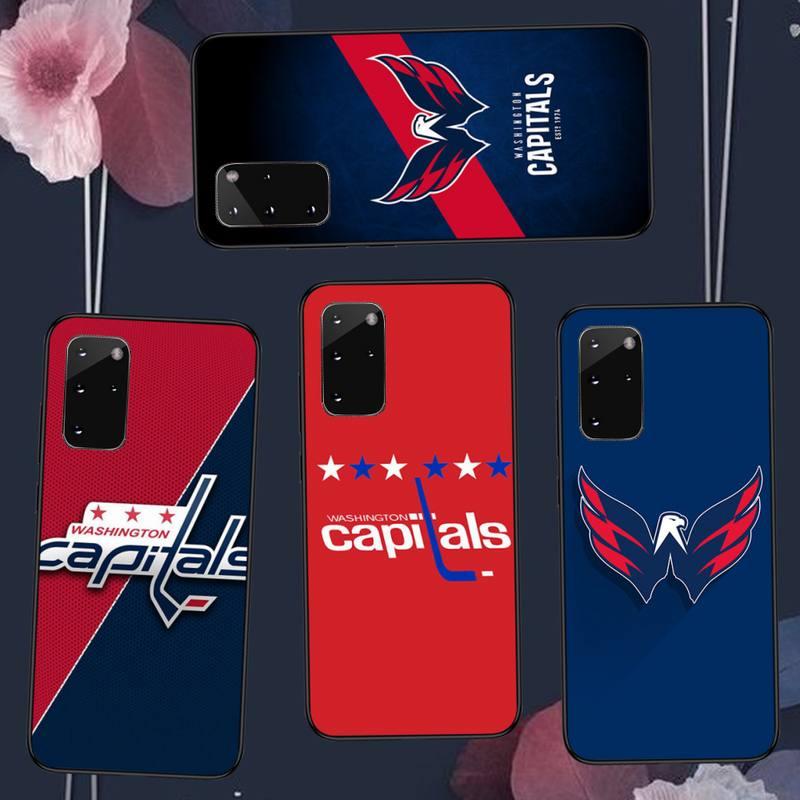 Washington hockey team badge Phone Case For Samsung A50 A51 A71 A20E A20S S10 S20 S21 S30 Plus ultra 5G M11