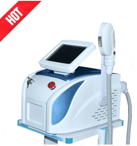 OPT Elight IPL Hair Removal SHR RF Skin Rejuvenation Anti Pigment Freckle with 5 Filters