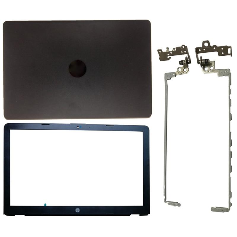 NEW Original LCD Back Cover/Front Bezel/Hinges For HP Pavilion 15-BS 15T-BS 15-BW 15Z-BW 250 G6 255 G6 Black 924899-001 new for hp 15 bs 15 br 15 bw 15t br 15 bs 15z bw laptop lcd back cover front bezel hinges palmrest bottom case 924899 001