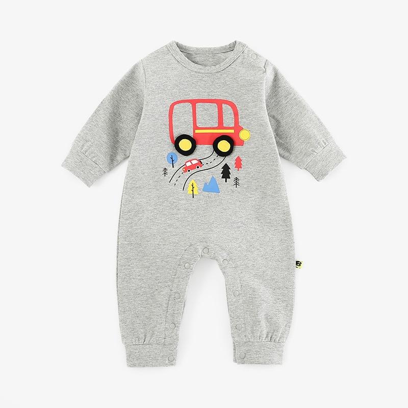 2021 детская одежда из хлопка для новорожденных Ползунки One Piece унисекс для малышей Одежда для новорожденных малышей, одежда на осень, размер о...